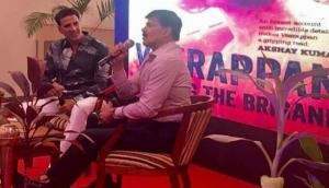Akshay Kumar launches book on 'Veerappan'