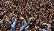 जम्मू-कश्मीर: पाकिस्तान के ख़िलाफ़ मुस्लिमों का प्रदर्शन