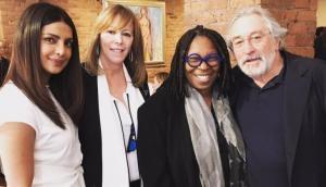 Priyanka Chopra spends afternoon with Robert De Niro, Whoopi Goldberg
