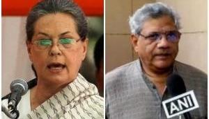 Presidential poll on mind, Sitaram Yechury meets Sonia Gandhi