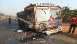 Speeding truck crushes woman to death in UP's Muzaffarnagar district