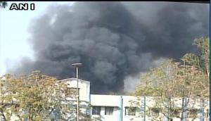 भोपाल रेलवे कोच फैक्ट्री में लगी भयंकर आग