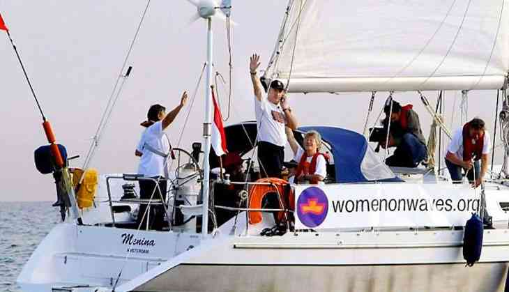 Women on Waves: Dutch boat helps women with abortions in Mexico