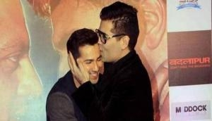 Karan Johar blesses 'student' Varun Dhawan on his 30th birthday