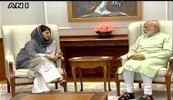 महबूबा मुफ्ती की BJP को धमकी, PDP तोड़ने की कोशिश की तो पैदा होंगे कई सलाउद्दीन