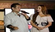 Iulia Vantur fills in for Salman Khan?