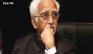 Hamid Ansari condemns Sukma attack, demands punishment for perpetrators