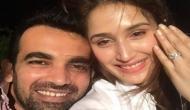 Official! Zaheer Khan gets engaged to 'Chak De' girl Sagarika Ghatge