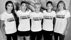 Fair pay for fair play: It's time for women's equality in sports