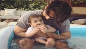 Daddy Shahid Kapoor enjoys pool time with daughter Misha