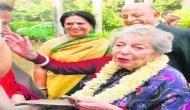 नेहरू परिवार की पहली विदेशी बहू का निधन