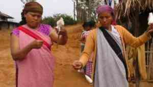 Meghalaya: Villagers find alternate source of income in 'traditional weaving'