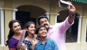 Munthirivallikal Thalirkkumbol emerges Mohanlal's fourth film in a row to complete 100 theatrical days