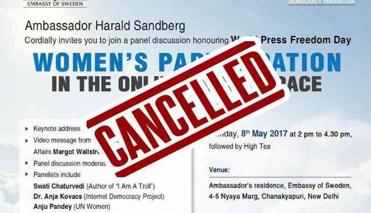 A Barkha Dutt, Maneka Gandhi debate on online trolling cancelled due to trolls!