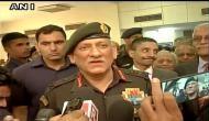 सेना अध्यक्ष बोले, 'पाकिस्तानी सेना की बर्बर हरकत का मिलेगा माकूल जवाब'