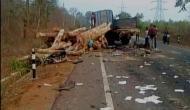 कर्नाटक: लॉरी से भिड़ी तेज रफ्तार कार, 7 लोगों की दर्दनाक मौत