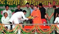 Adityanath shares stage with Amanmani. Will the BJP take the murder accused into its fold?