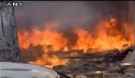 लुधियाना की एक फैक्ट्री में लगी भीषण आग