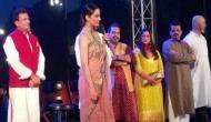 काशी के घाट किनारे कंगना ने किया 'मणिकर्णिका' फिल्म का पोस्टर लॉन्च