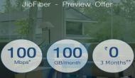 JioFiber प्रीव्यू ऑफर: तीन माह तक 100mbps की स्पीड से 300GB मुफ्त डाटा