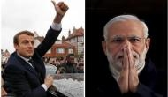 PM Modi, French President to hold delegation level talks today