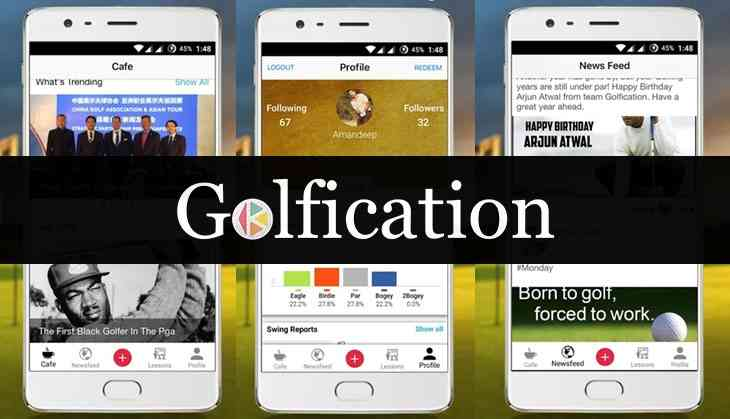 From cricket to golf; Golfication, the 'One-Stop Golf' app, is now funded
