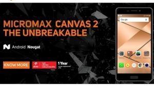 शुरू हो गई साल भर मुफ्त 4G डाटा और अनलिमिटेड कॉलिंग वाले Micromax Canvas 2 की बिक्री