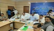Venkaiah Naidu holds review meeting in Jharkhand
