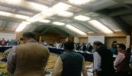 J-K: GST Council meet begins with a minute silence for late Union Minister Dave