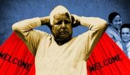 Lalu is fighting back and he's making it memorable