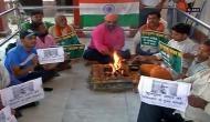 Mumbai: Locals hold hawan for Kulbhushan Jadhav's 'safe return'