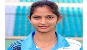 Midfielder Navjot Kaur completes 100 international caps for India