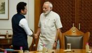 Tendulkar briefs PM Modi about 'Sachin A Billion Dreams', receives blessings