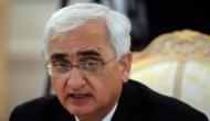 सलमान खुर्शीद के बयान पर फंसी कांग्रेस, कहा- कांग्रेस के दामन पर हैं मुसलमानों के खून के धब्बे