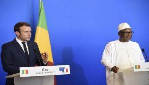 French President Macron stresses on combating Jihadi threat