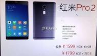 ऑनलाइन नजर आया OLED डिस्प्ले वाला Xiaomi Redmi Pro 2
