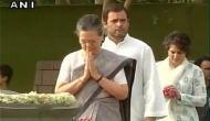 Sonia, Rahul pay tribute to Rajiv Gandhi on his death anniversary