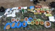 कश्मीर: नौगाम सेक्टर में 4 आतंकी ढेर, हथियार-गोला बारूद का जखीरा जब्त