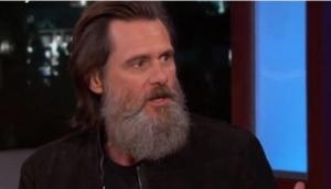 Jim Carrey feels his 'beard is a bigger star' than him