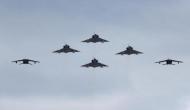 Pakistan Mirage jets fly over Siachen Glacier