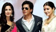 Katrina, Anushka to pair with Shah Rukh Khan once again