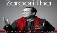 Rahat Fateh Ali Khan's 'Zaroori Tha' crosses 200 m views on YouTube