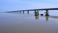 मोदी सरकार के 3 साल: देश के सबसे लंबे पुल का PM ने किया उद्घाटन