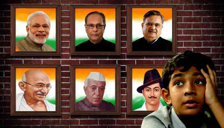 Are BJP states promoting a personality cult by putting up PM's photo in schools?