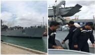 INS Shardul reaches Colombo with relief materials
