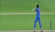 VIDEO: धोनी ने मैच जिताने के बाद श्रीलंका के खिलाड़ियों को दी ये टिप्स