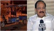 ई-रिक्शा चालक मर्डर पर बोले नायडू- स्वच्छ भारत को कर रहा था प्रमोट