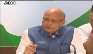 PNB घोटाला : सिंघवी ने रक्षा मंत्री को दी मानहानि का केस करने की चेतावनी