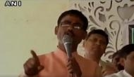 भाजपा नेता की नए साल पर हेट स्पीच, हिंदुस्तान को बताया हिंदुओं का देश