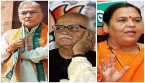 Babri demolition case: Advani, Joshi, Uma and others granted bail